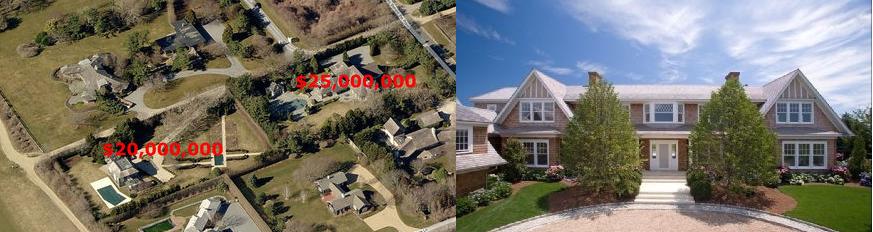 Hamptons biggest sales in 2012