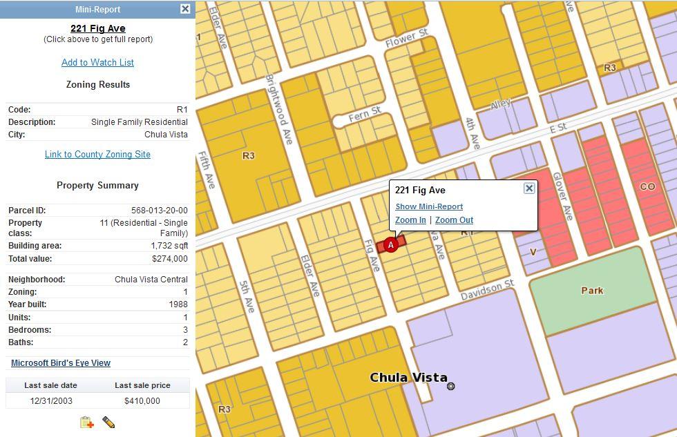 Zoning Map San Diego