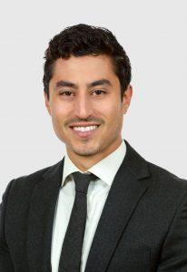 David Balk, real estate salesperson for Citi Habitats, a real estate agency in New York
