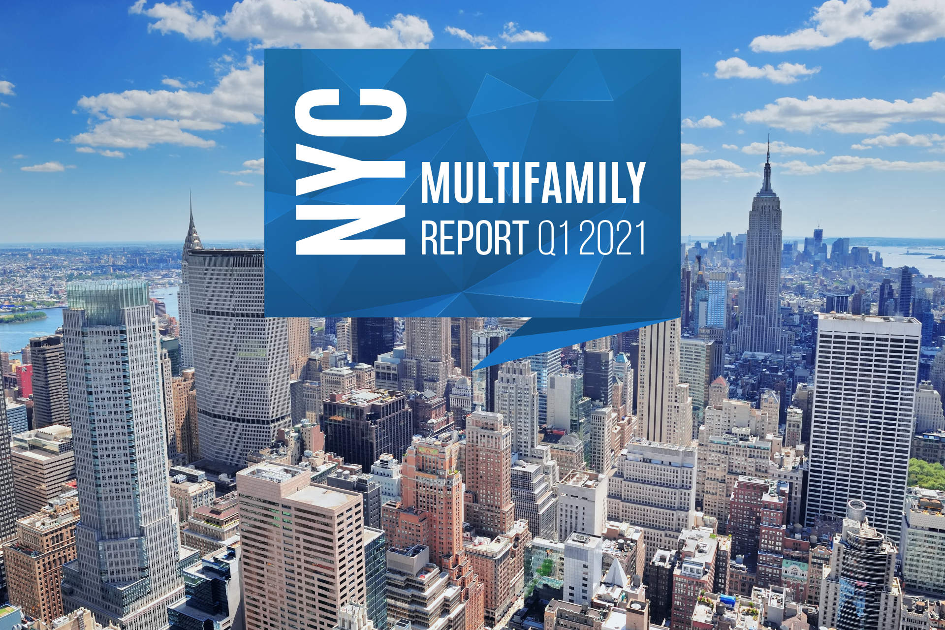 NYC Multifamily Sales Volume Down 62% in Q1 as Slumping Rents & High Vacancy Rates Exacerbate Prior Slowdown
