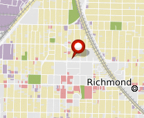 Parcel map for 1055 Barrett Avenue, Richmond, CA 94801.