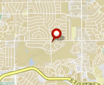 Parcel map for 3603 Airport Road, Colorado Springs, CO 80910.