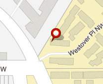 Parcel map for 4454 Westover Pl NW, Washington, DC 20016.