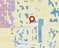 Parcel map for 238 Stanhope Circle, Naples, FL 34104.