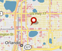 Parcel map for 215 East Livingston Street, Orlando, FL 32801.