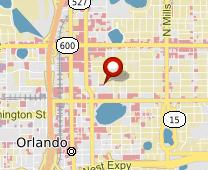Parcel map for 219 East Livingston Street, Orlando, FL 32801.