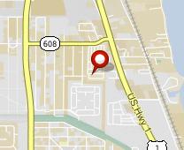 Parcel map for 2023 St Lucie Boulevard, Fort Pierce, FL 34946.