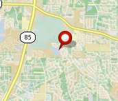 Property map for 8039 Creekstone Way, Riverdale, GA 30274.