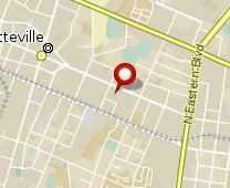 Parcel map for 418 Person Street, Fayetteville, NC 28301.