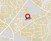 Parcel map for 3249 Blue Ridge Road, Raleigh, NC 27612.