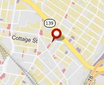 Parcel map for 417 Hoboken Avenue, Jersey City, NJ 07306.
